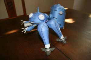 Papercraft Tachikoma 15 by Helmut-de-Bouffy