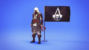 Assassin's Creed Black Flag - Edward Kenway 3D SC by Binary-Map