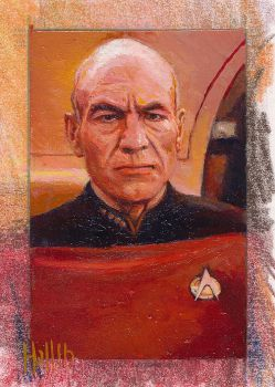 star trek tng 2 sketch card 9 by charles-hall