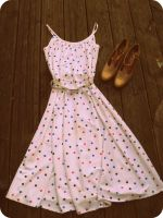 Vintage Dress and Shoes by KisforKatieRose