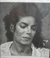 Angelic Michael Jackson by 1brownchocolate