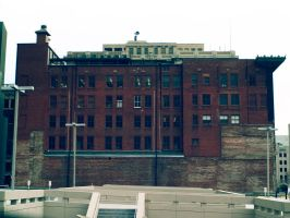 Building in Downtown Tulsa by Genflag