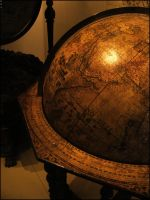 Globe of olden times by unusualPhoto