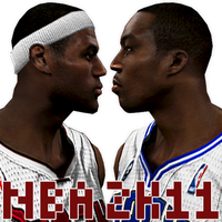 NBA 2K11 HOWARD-JAMES by Archer120