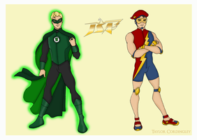 Green Lantern and The Flash Redesigns by Femmes-Fatales
