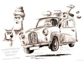 Wallace and Gromit by Jimtheartist