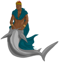 Hannibal mermaid AU - The King by FuriarossaAndMimma