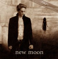 New Moon Edward and Bella by llvllagic