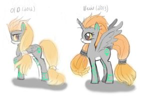 Twilight princess Midna pony update by AngelofHapiness