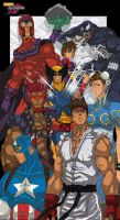 marvel vs capcom by 80Gunz