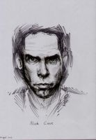 Nick Cave by Biody