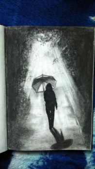sketchbook - a walk through herself by Tsenov