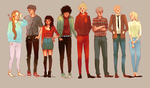 les hipsterables by chazstity