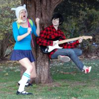 Gender-Bender Rock Band by MusketeersOfCosplay