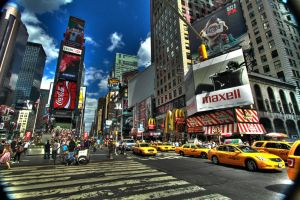 HDR Times Square by MrBlueSky1987