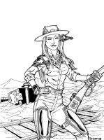 Mrs. Lowe Steampunked by TheElysian