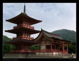 Kiyomizu Pagoda Reproduction by Bal-Bafu