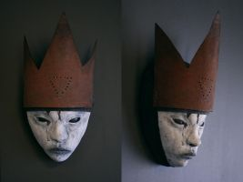 Mask - 'Rust Crown' by torvenius