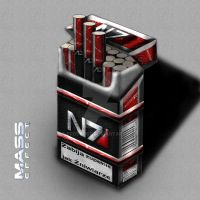 Mass Effect cigarettes by Proteusz