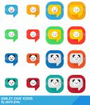 Smiley Chat Icons by yami-joey