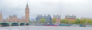 Big Ben Panorama by deviouselite