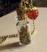 Autumn Jewels Pendant by mymysticgems
