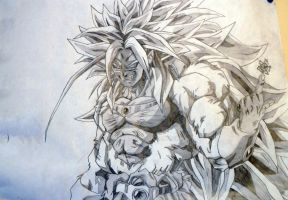 Broly SuperSaiyan5 by GTzArt
