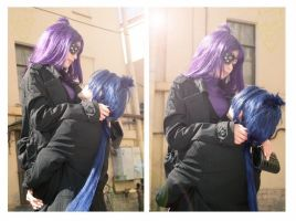 Chrome Dokuro TYL and Mukuro Rokudo TYL by Bad-Llama