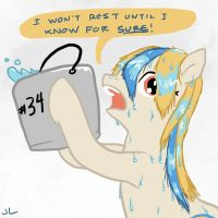 Pia's Wet Hair Response by DocWario
