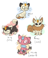 meowth breeding variations by pumkat