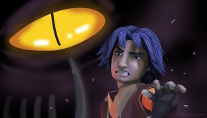 Darkest Moments - Ezra Bridger by Dawnchaser