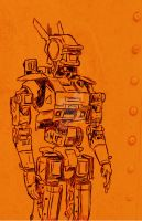 Chappie Sketch by Flich