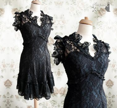 Dress Illicens LBD Somnia Romantica by M. Turin by SomniaRomantica