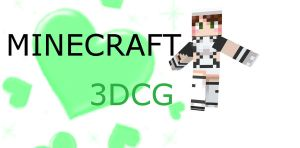 MMD 3DCG MINECRAFT DOWNLOAD by BigBadAnimeFan