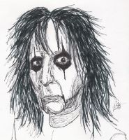 shock-rocker Alice Cooper by BaldPat
