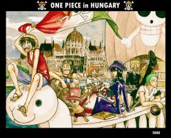 One Piece in Hungary by Wik86
