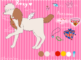 Roxy 2012 reference sheet .:CURRENT:. by RoxyCockerSpaniel
