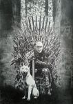 The iron throne drawing by What-about-chris