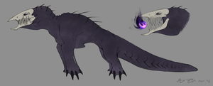 Dark Matter Dragon Design by xXNuclearXx