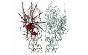 EVIL and ANGEL HD by jbperso-fr