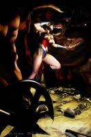 Wonder Woman - Into Hades by that-3-guy