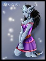 .:Draenei Female:. by Youmane