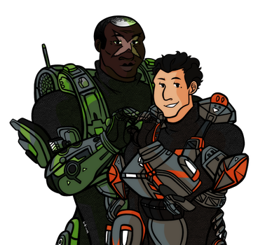 RvB- Old Married Losers by BuddhatheBob