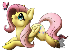 Fluttershy by Japandragon