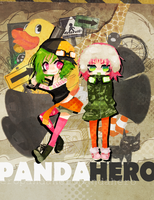 panda hero by deathbylolita