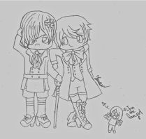 Ciel and Alois commission by ChocolateRose311
