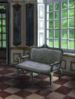 Study Interior Classical Room by charfade