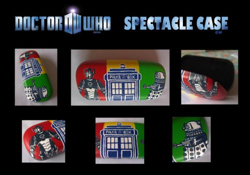 Doctor Who spectale case by GwendolynWolters