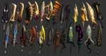 MH3 - All Great Swords by IIReII