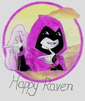 Happy Raven by untitled-bin